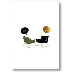 Affiche Nuit et Jour - Ok Go