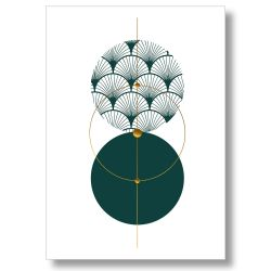 Poster Comme une evidence - Art Deco