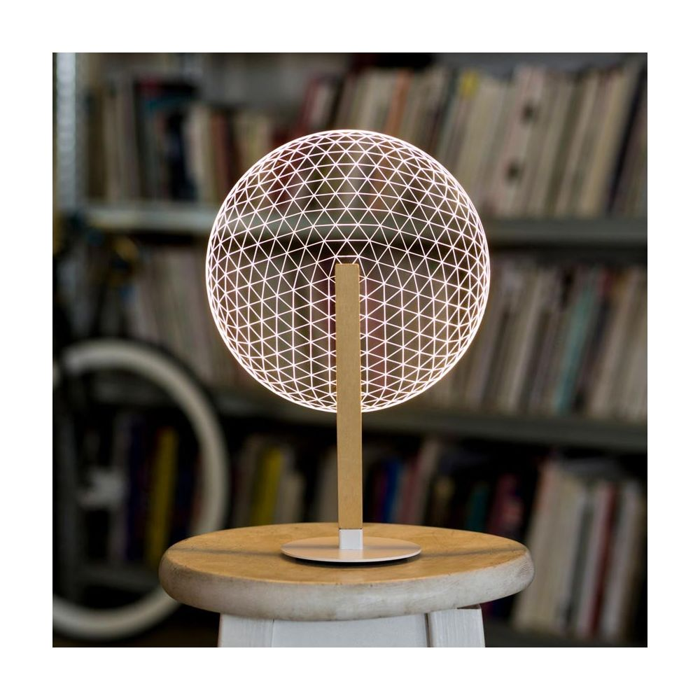 Bulbing Collection   Lampe Led Illusion 3d Bloom