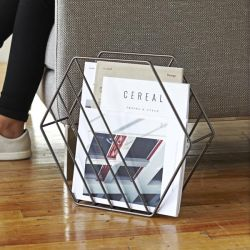 Magazine rack Zina Umbra
