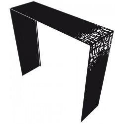 Console Cubical Noire