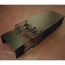 Design Black Nesting Tables Cubical