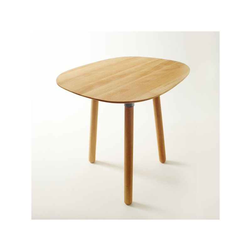 Table basse 3 pieds en bois massif par reine m re - Table basse grand format ...