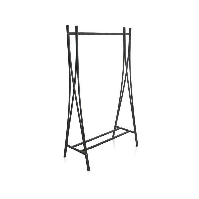 porte habits bois portant pour rangement v tements. Black Bedroom Furniture Sets. Home Design Ideas