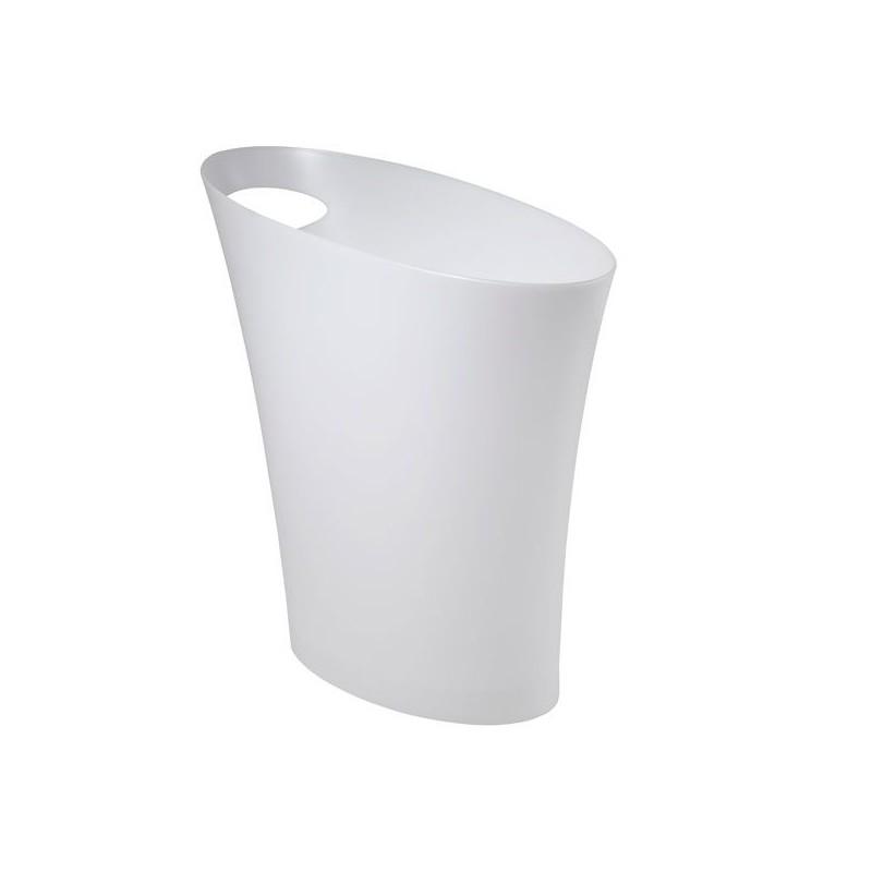 corbeille papier poubelle de bureau blanche livraison en 48 heures. Black Bedroom Furniture Sets. Home Design Ideas