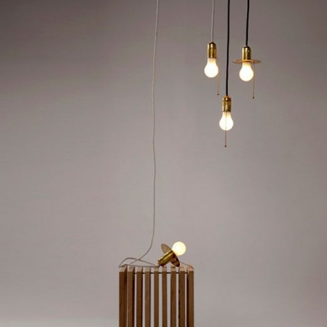 Design lamps in brass to hang or to place flat ring version hanging lamp goldie aloadofball Images