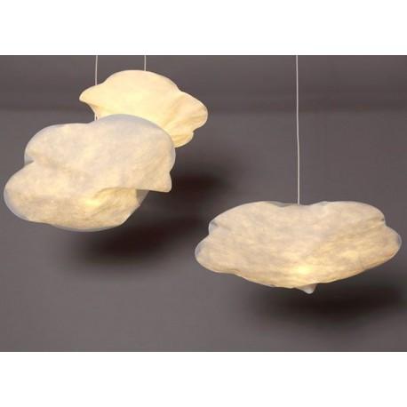 lustre nuage en papier suspension raumgestalt chez pure deco. Black Bedroom Furniture Sets. Home Design Ideas