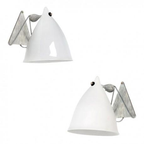 Porcelain wall lamps design Tsé Tsé