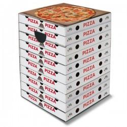 Tabouret  en carton Pizza