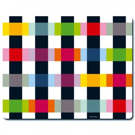 tapis de souris design colour caro par remember. Black Bedroom Furniture Sets. Home Design Ideas