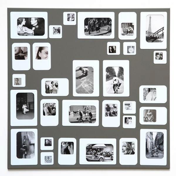 Pêle-mêle photos M30 Gris-Blanc