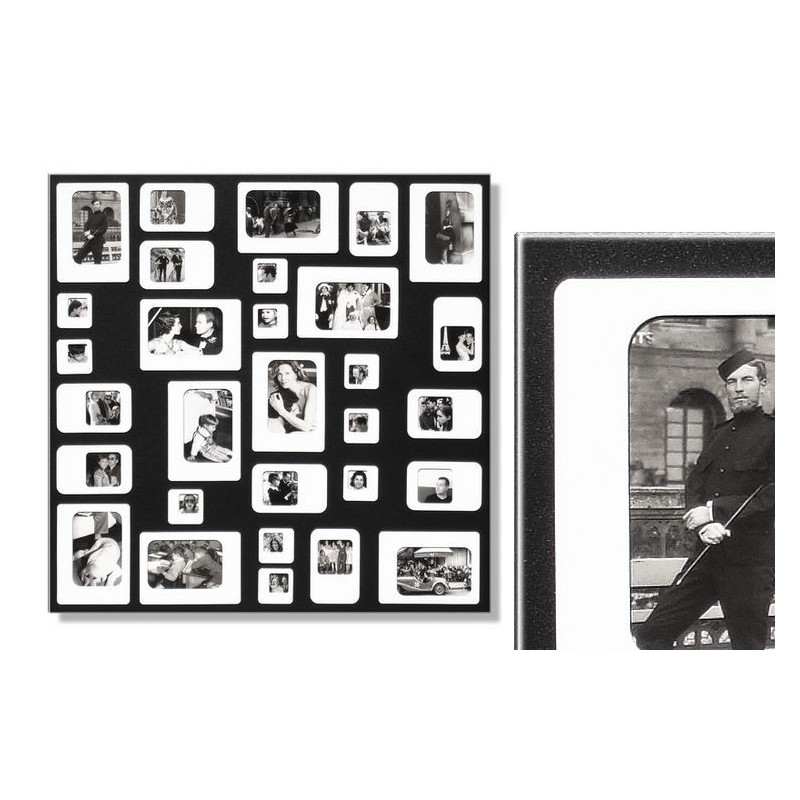 m30 black white magnetic photo frame. Black Bedroom Furniture Sets. Home Design Ideas