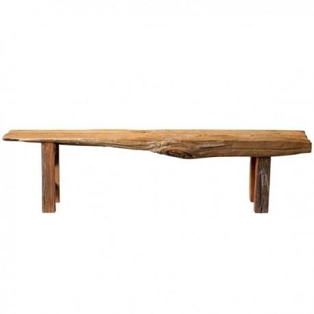 banc en bois brut bloomingville chez pure deco. Black Bedroom Furniture Sets. Home Design Ideas