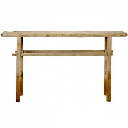 Old wooden table Orme by Bloomingville