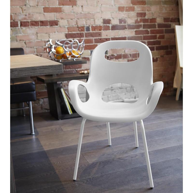 ... White Armchair Oh Chair By Karim Rashid ...