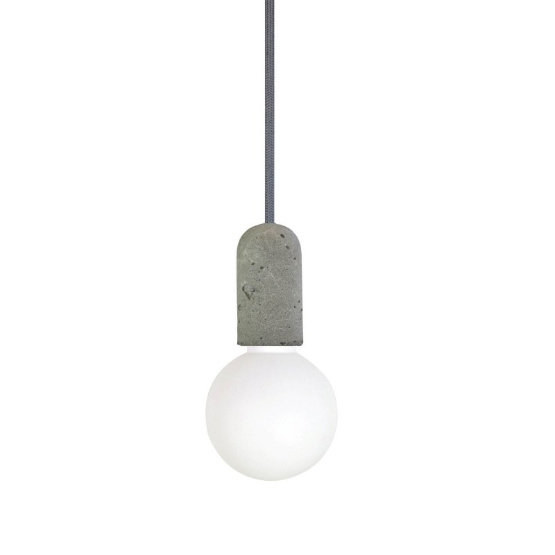 suspension en b ton gris design nud collection. Black Bedroom Furniture Sets. Home Design Ideas