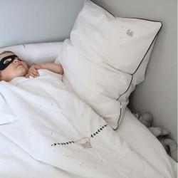 Cloud quilt cover & pillowcase for children by Mimilou