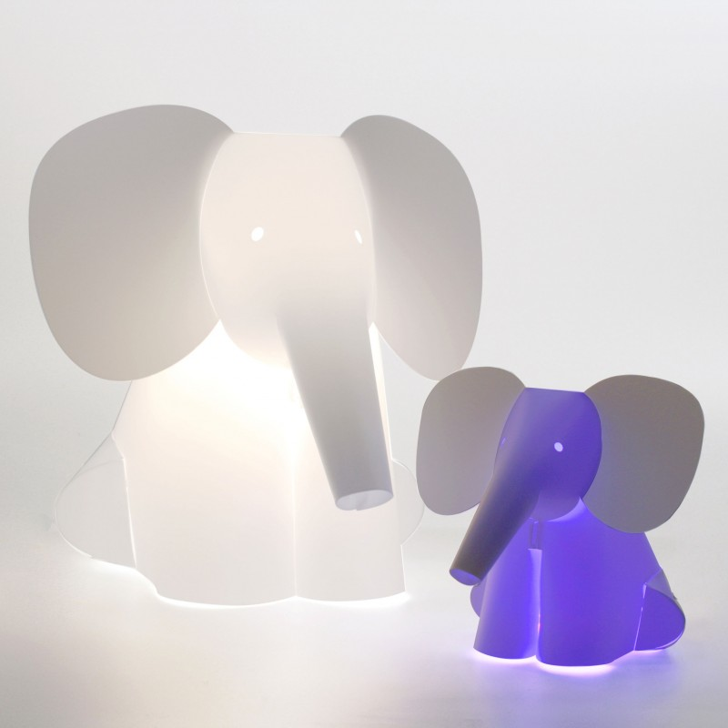 lampe pour enfant animaux lampe chat pingouin ou l phant. Black Bedroom Furniture Sets. Home Design Ideas