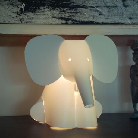 Lampe Veilleuse Zoo à LED multicolore Elephant