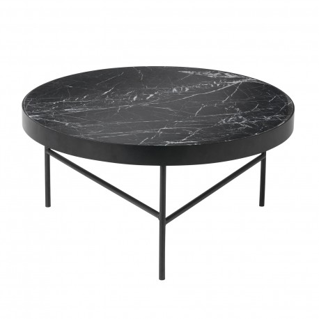 Table basse Marbre noir Ferm Living