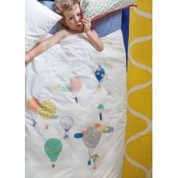 Hot air balloon quilt cover & pillowcase by Mimilou