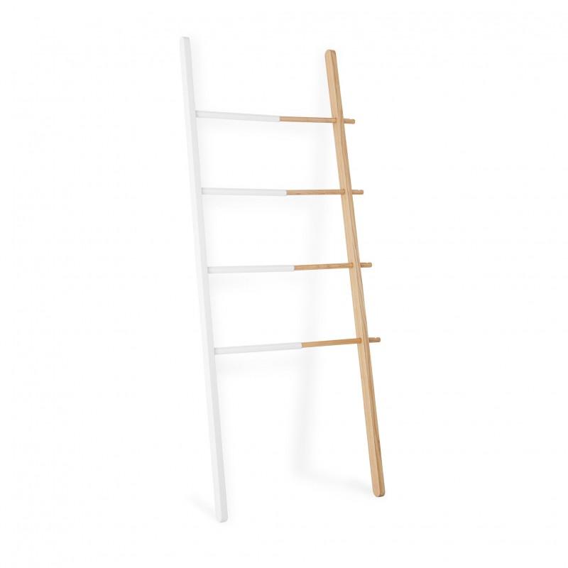 Echelle En Bois Blanche : Ladder Hub Umbra
