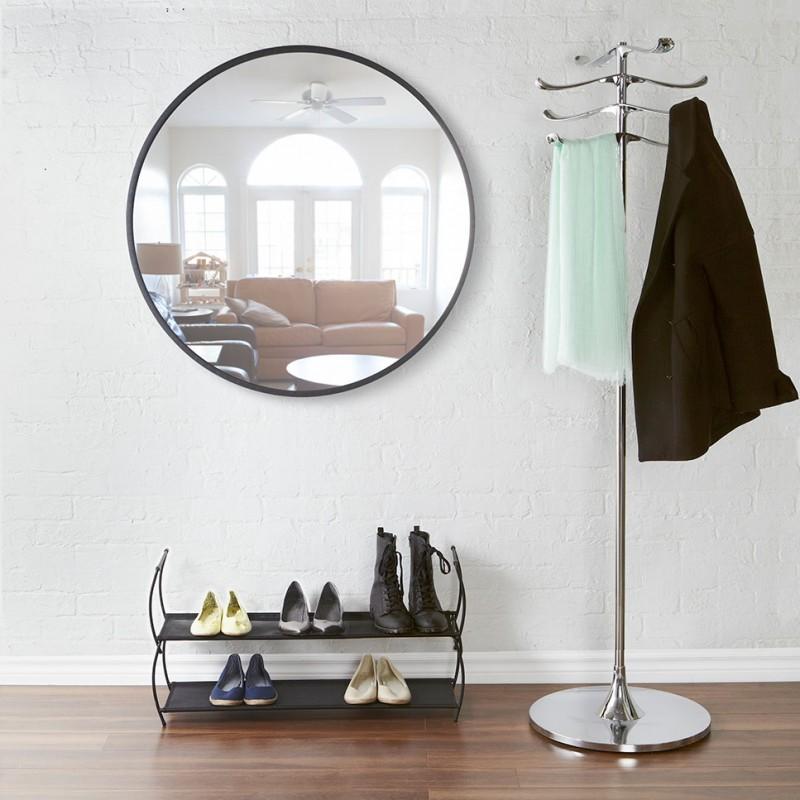 Grand miroir rond hub par umbra - Deco avec miroir mural ...