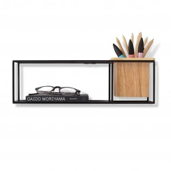 Cubist small wall shelf