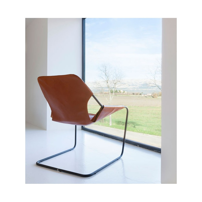 Paulistano Leather Armchair By Objekto
