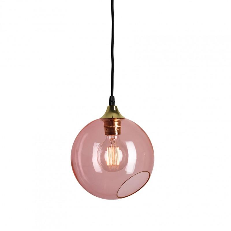 Colorful transparent glass design pendant light ballroom design glass pink pendant light ballroom mozeypictures Gallery