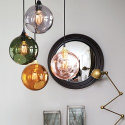 Design glass pendant lights Ballroom