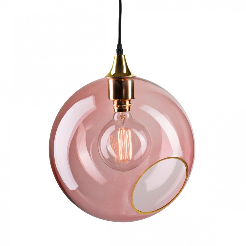Large Colorful And Design Pendant Light In Glass Ballroom XL