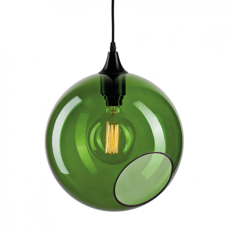 Large colorful and design pendant light in glass ballroom xl ballroom xl design green glass pendant light aloadofball Choice Image