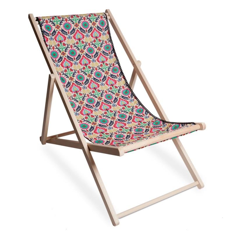 Toile de chilienne et chilienne maya un mobilier de for Mobilier jardin transat