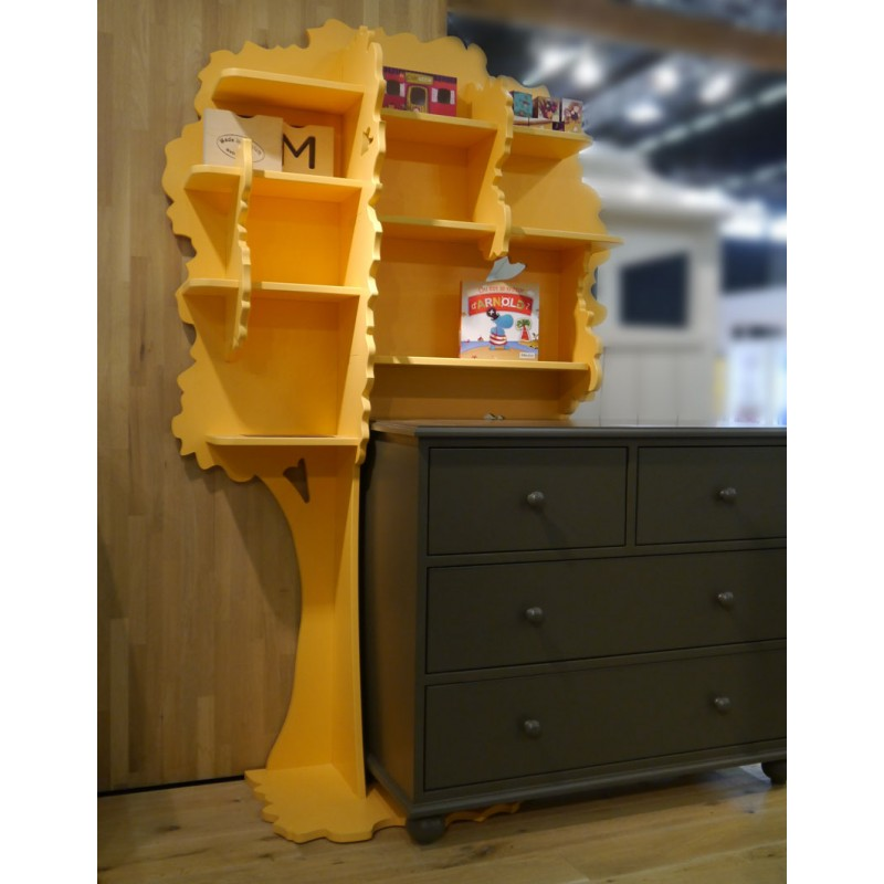 biblioth que arbre sam mathy by bols bibilioth que originale pour enfant. Black Bedroom Furniture Sets. Home Design Ideas