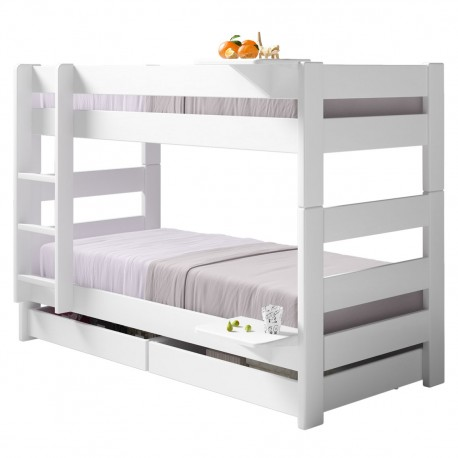separable bunk bed mathy by bols convertible double bed 149 or 166 cms dominique collection. Black Bedroom Furniture Sets. Home Design Ideas