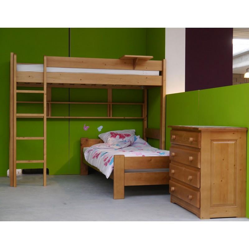 lit sur lev indissociable et dissociable mobilier pour enfant dominique par mathy by bols. Black Bedroom Furniture Sets. Home Design Ideas