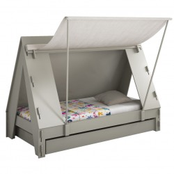 Taupe Tent bed Mathy by bols