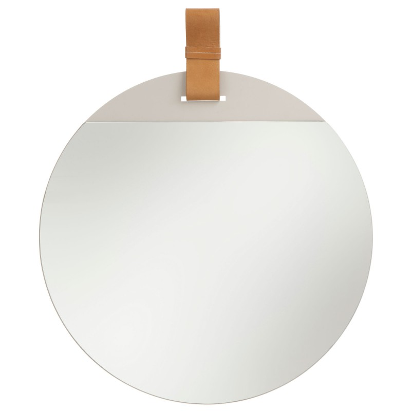 Miroir enter par ferm living for Miroir rond design