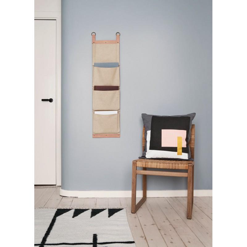 enter magazine holder by ferm living. Black Bedroom Furniture Sets. Home Design Ideas