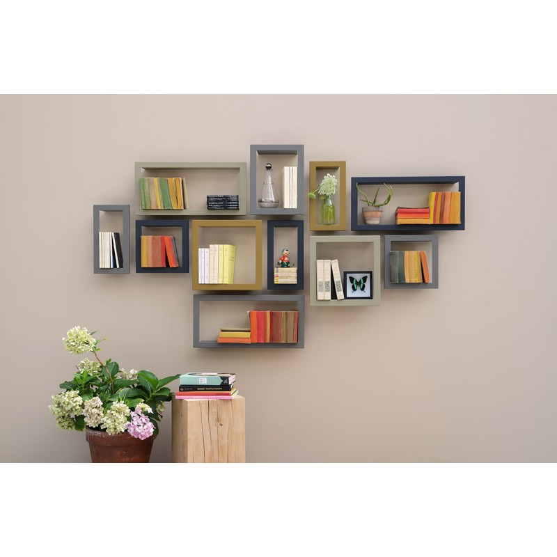 Etag 232 Re Murale Design Highstick Etagere Presse Citron