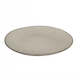 Stoneware dinner plate - Nordic Sand