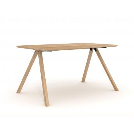 Table haute en bois massif Ethnicraft