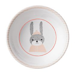Bowl for children rabbit