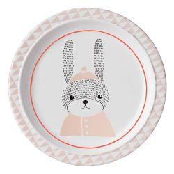 Assiette plate Sophia Bloomingville