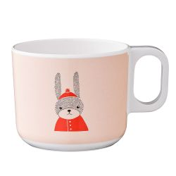 Tasse enfant lapin rose Bloomingville Mini