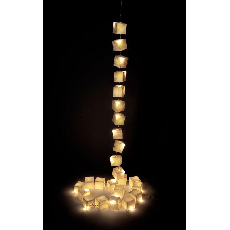 Guirlande cubiste Tsé Tsé - Guirlande lumineuse en papier