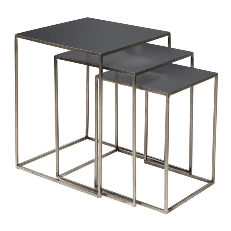 tables gigognes design en m tal freja broste copenhagen. Black Bedroom Furniture Sets. Home Design Ideas