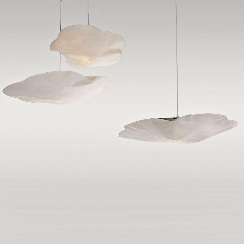 Hanging Light Cloud In Paper By Raumgestalt
