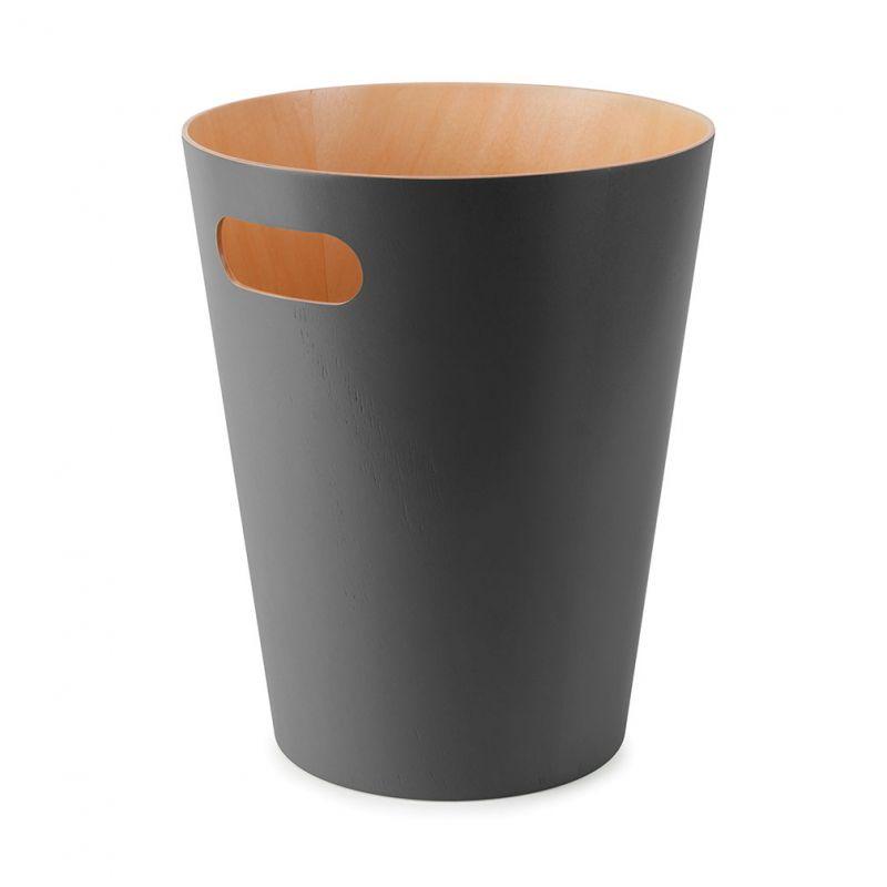 corbeille papier en bois corbeille papier pour chambre ou bureau au design l gant par umbra. Black Bedroom Furniture Sets. Home Design Ideas